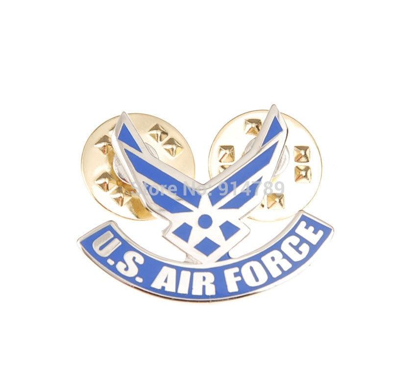 US USAF AIR FORCE WINGS PIN LAPEL PIN TIE TACK SMALL PIN BADGE-34038