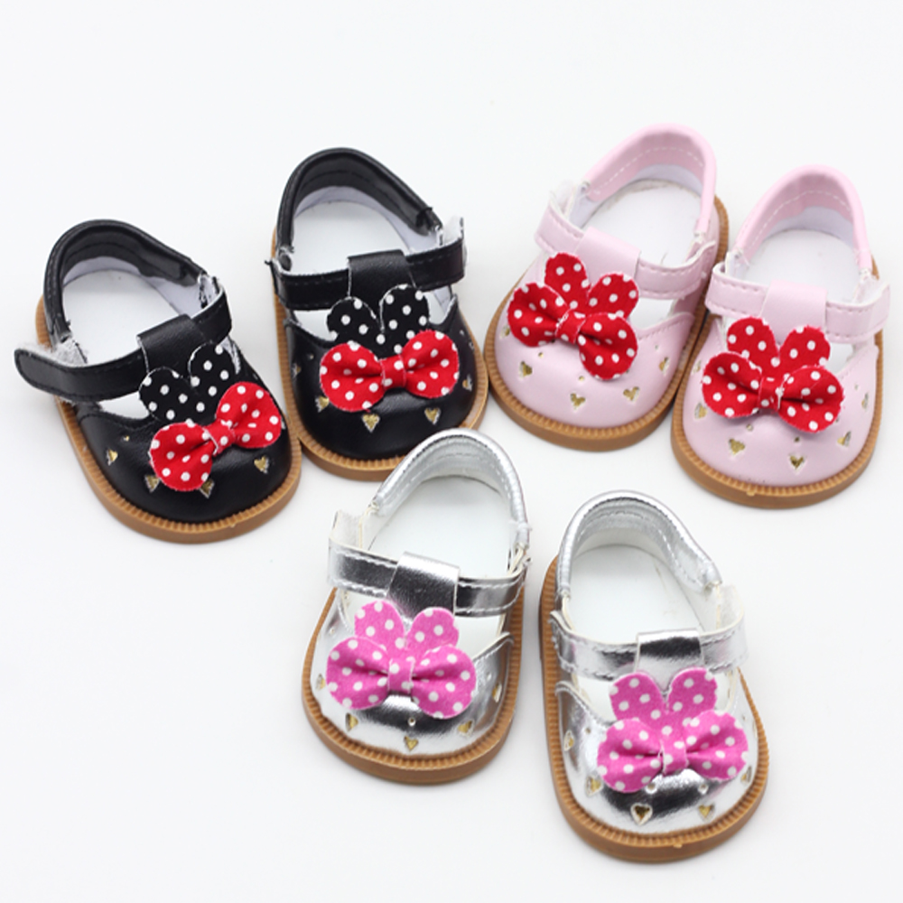 Toys Hobbies Dolls & Accessories Dolls Accessories Fashion Shoes For 1/3 BJD Doll And 43cm Baby Doll Shoes 7cm