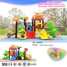 Индивидуальные Детская игровая площадка горки для улицы