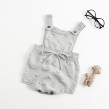 Baby Romper Set Infant Jumpsuit Overall Sleeveless