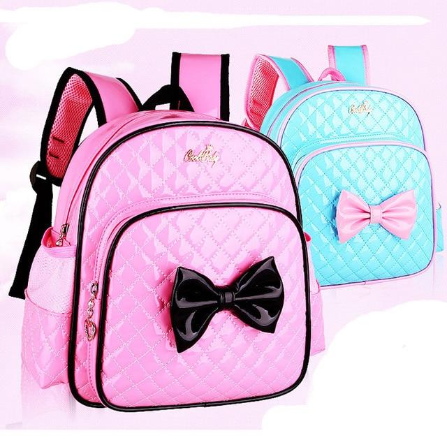 Children Schoolbag Princess Pink Cartoon Backpack 2-7 Years Girls  Kindergarten Baby Girls School Bags 2d623b513dd18