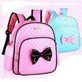 Niños princesa rosa de la historieta mochila 2-7 años niñas Kindergarten bebé niñas bolsas escolares taleguilla de los cabritos mochila para bebé