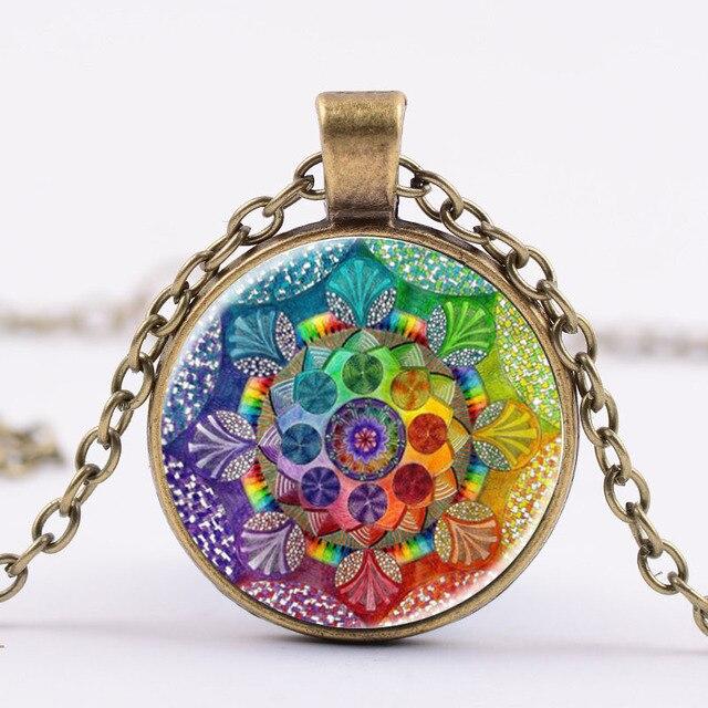Lukeni ручная работа хна ожерелье из Яги Бриллиантовая подвеска