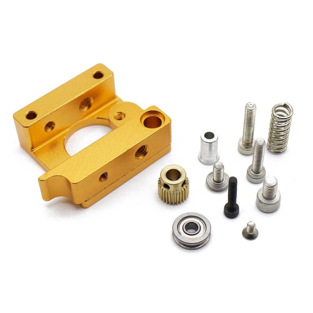 MK8 Extruder Right Aluminum Holder Nozzle Kit Set For 3D Printer RepRap Makerbot