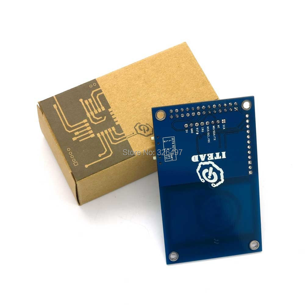 Mini smart RFID NFC Reader/Writer Module 13 56Mhz M1 UART