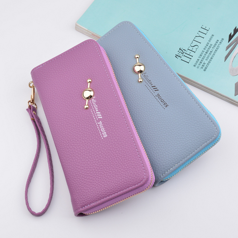 Women Wallets PU Leather Wallet Female Purse Long Coin Purses Holders Ladies Wallet Hasp Fashion Womens Wallets And Purses laamei women wallets ladies long design hasp zipper purses clutch change coin card holders carteras female wallet pu leather