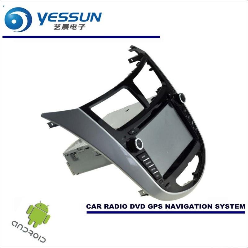 YESSUN pour Hyundai Accent/bleu d'esprit fluide Verna voiture système de Navigation Android Radio stéréo lecteur CD DVD GPS Navi multimédia