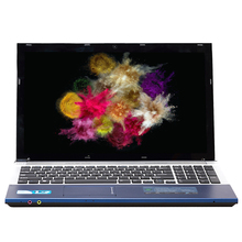15.6inch Intel Core i7 CPU 4GB RAM+120GB SSD+500GB HDD 1920x1080P FHD WIFI Bluetooth DVD-ROM Windows 10 Laptop Notebook Computer