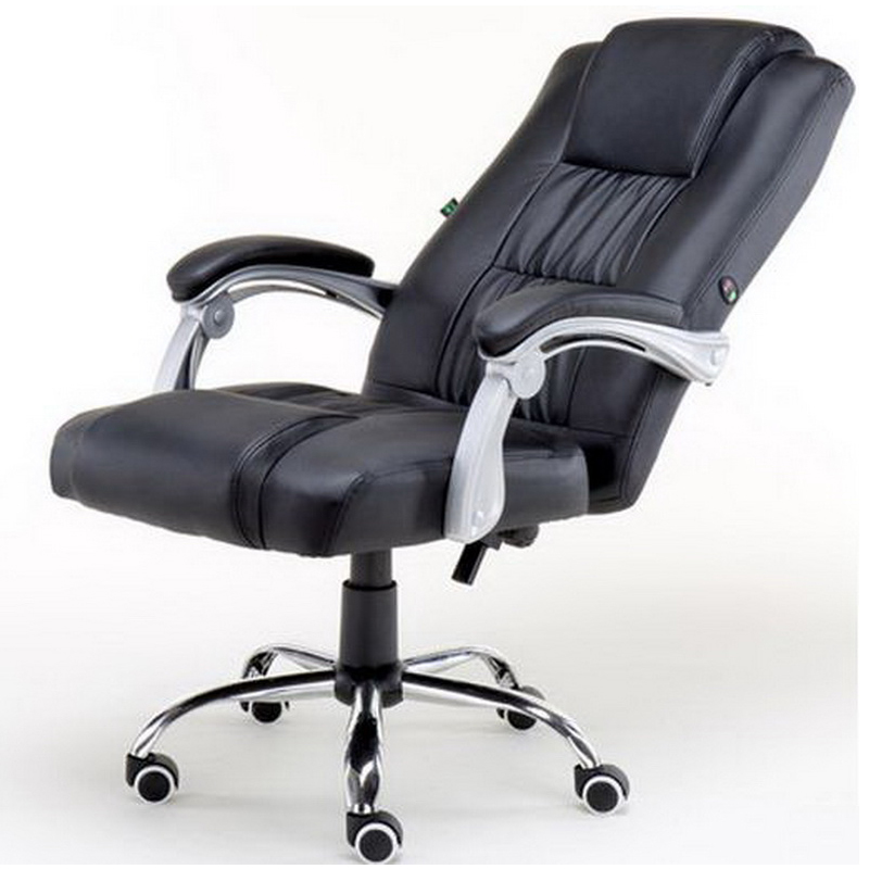 240345/Office massage Chair/Computer/Household/Ergonomic Chair/360 degree rotatable wheel/Thicker cushions/Adjustable handrails 240311 high quality pu leather computer chair stereo thicker cushion household office chair steel handrails