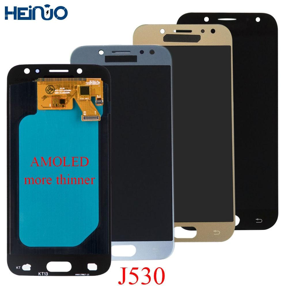 Super AMOLED LCD For SAMSUNG Galaxy J5 Pro 2017 J530 J530F J530FM LCD Display Touch Screen