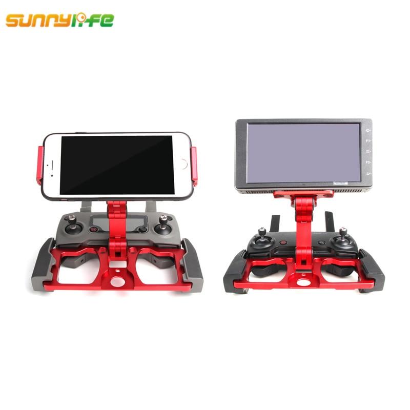 Pour DJI Spark Mavic 2 Pro Mavic Pro Mavic Air télécommande tablette support de téléphone cristalsky moniteur support Clip-in Kits d'accessoires pour drones from Electronique    1