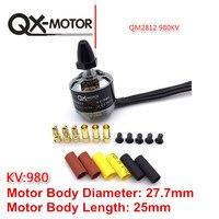 QX Motor QM2812 980KV Motor Brushless RC Motor CW CCW For F450 Multirotor Quadcopter
