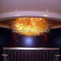 Free Shipping AC Led Best Design Villa Art Lighting Globe Glass Chandelier