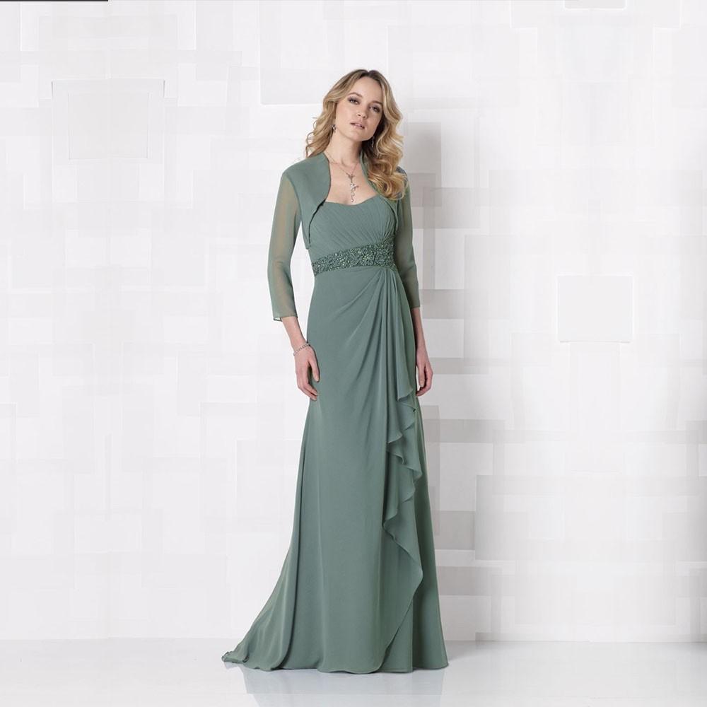 2015-Free-Custom-Made-Formal-Elegant-A-Line-Sweetheart-Ruffles-Floor-Length-Chiffon-Mother-Of-The