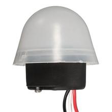 Adjustable Sensitive Auto On Off Photocell Street Light Switch Ac 220V 10A Electronic Photo Control Photoswitch Sensor Switch