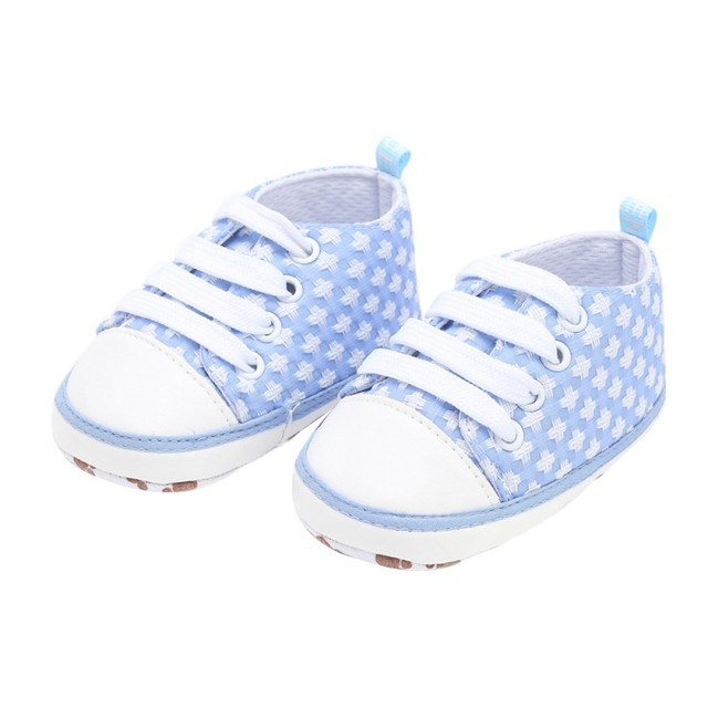 f377e306ad7e Baby shoes Autumn Children  s The First Walker Baby Boys Girls Cross Print  Casual