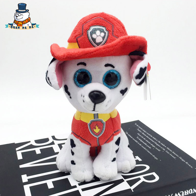 [Quanpapa] Новое 15 см хлопок Животные плюшевые игрушки далматинец кукла регулярное мягкие Животные Ty Beanie Боос плюшевые игрушки для ребенка