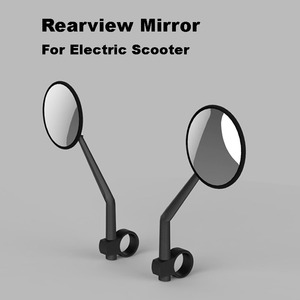 Image 1 - Xiaomi Electric Scooter Rearview Mirror Mijia Electric Scooter Rear View Mirror for Xiaomi M365 and ES1 Electric Scooter