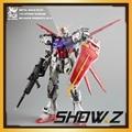 [Show.Z Store] Moshow 1/72 GAT-X105 Metal Build Plus Gundam Aile Strike Striker New IOCA
