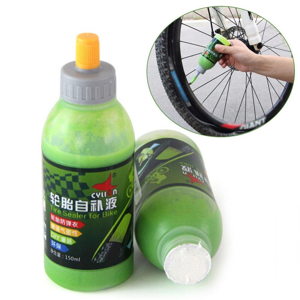 150 ml sellador de neumáticos de bicicleta de montaña sellador de protección de pinchazos sellador de neumáticos de bicicleta kit de herramientas de reparación de neumáticos rueda selladora de protección
