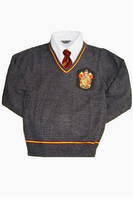 Gryffindor House Cosplay Long Sleeve Pullover Sweater from Harry Free Shipping for Halloween and Christmas