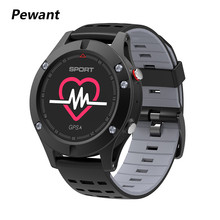 2018 Pewant P-F5 MTK2503 GPS Sports Smart Watch Waterproof Thermometer Altimeter Bluetooth 4.2 Smartwatch Wearable Device