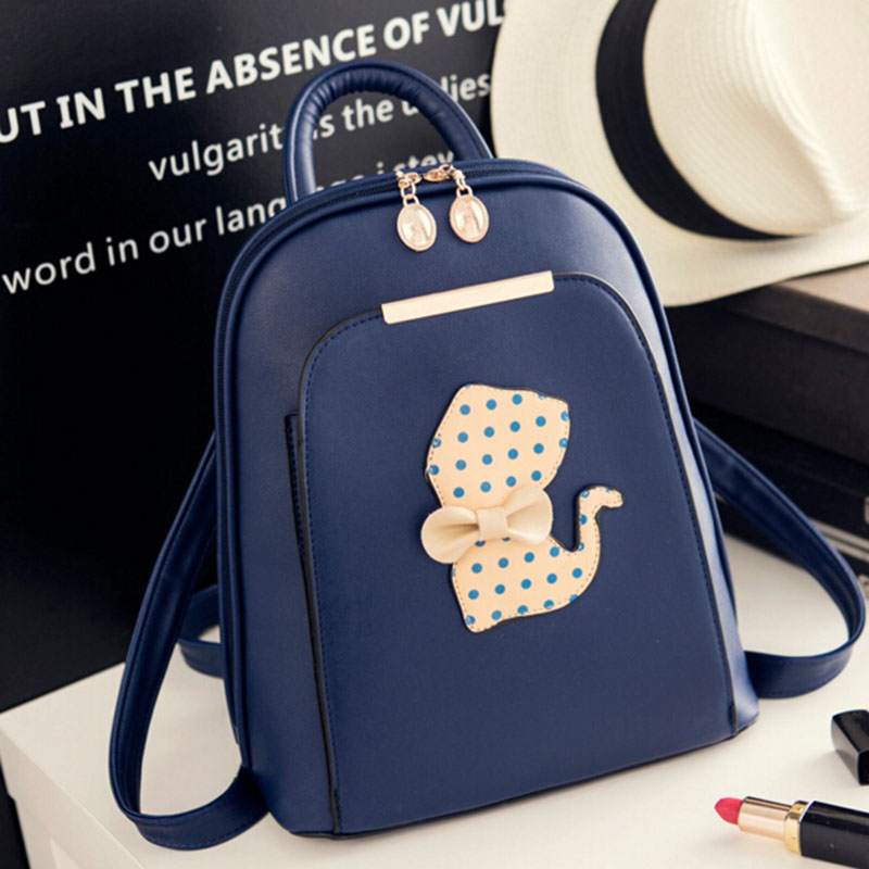 FLYING BIRDS women backpack fashion women leather Backpacks ladies girls school  bags shoulder bags female travel bag LM3963fb-in Backpacks from Luggage ... c3b73b4884fef