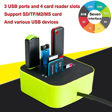 USB Card Reader Expander Multi function Memory OTG Micro SD TF USB 2.0 cardreader kaartlezer lector de tarjetas lecteur carte sd