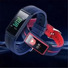 B5 Good Bracelet Coronary heart Fee Monitor Coloration Contact Display Wristband Bracelet Health Tracker Pedometor Pulseria Inteligente