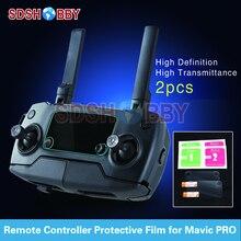 2pcs Remote Controller Screen Protective Film HD Pad for DJI Mavic Pro