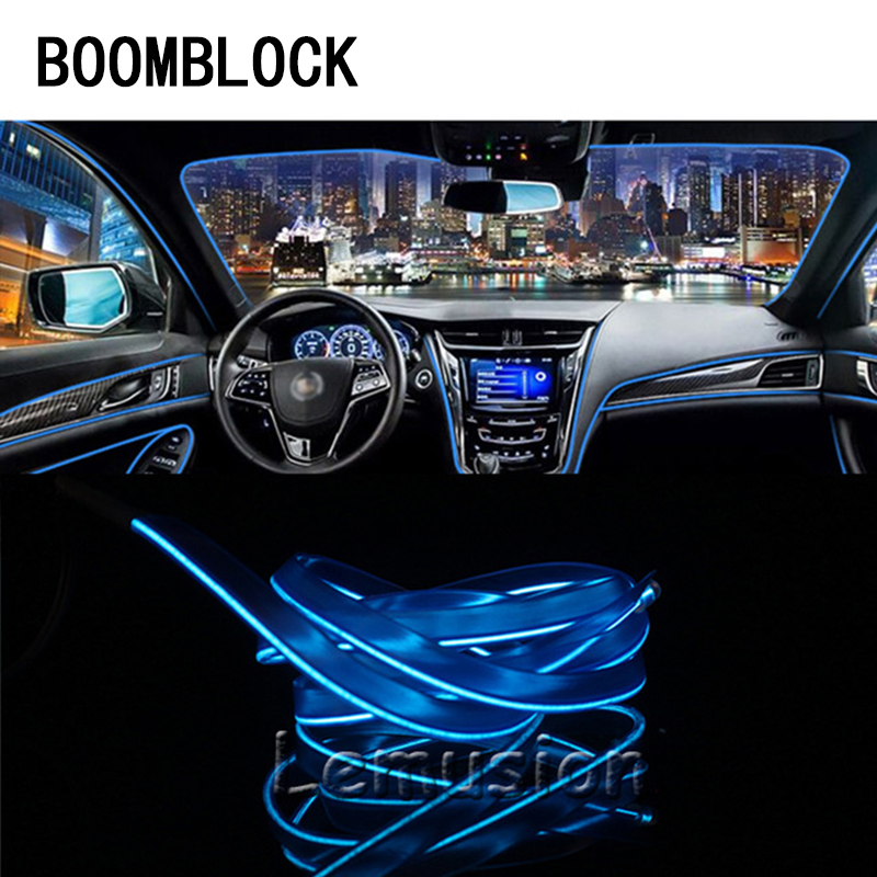 Car 12V LED Cold Light Strips Neon lamps For BMW e46 e39 e90 e60 e36 f30 f10 e34 x5 e53 e30 f20 Audi a4 b6 b7 b8 b5 a3 a6 c5 c6