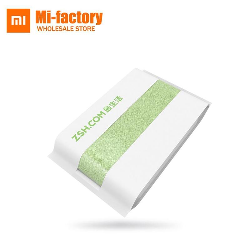 Originaal Xiaomi ZSH käterätik Facecloth puuvillane käterätik Xiaomi noor ranna rätikuga pesumasin antibakteriaalse vee imendumine