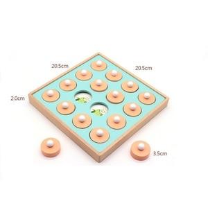 Image 5 - 몬테소리 메모리 경기 체스 게임 3D 퍼즐 나무 조기 교육 가족 파티 캐주얼 상호 작용 게임 장난감 어린이 키즈