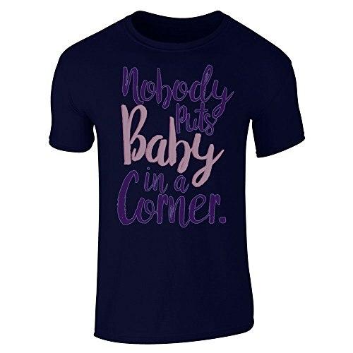 Nadie pone al bebé en una esquina manga corta Camiseta - a71 616a87f31c735