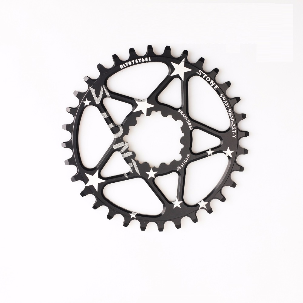 Bicycle BB30 Direct Mount Oval Chainring  round  Wide Chain Wheel bicycle parts