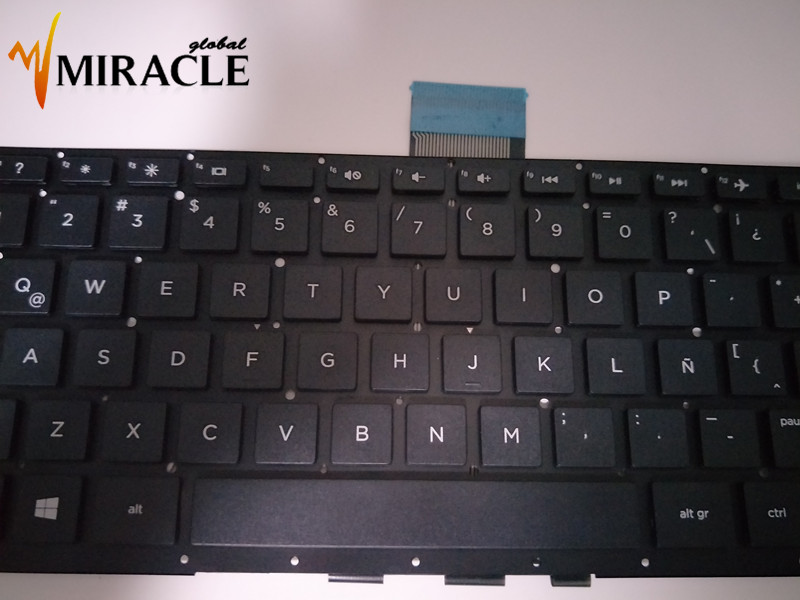 US $23 5 |Repair You Life Laptop keyboard for HP Pavilion X360 13 A 13 S SP  LA Latin layout Original New without frame-in Replacement Keyboards from
