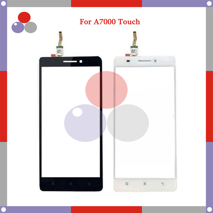 10pcs/lot High Quality For Lenovo A7000 K3 Note K50-t5 touch Screen Panel Sensor Digitizer Outer Glass Lens