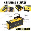Mini portable car jump starter multi function diesel power bank bateria battery 12V 20000mAh peak car charger auto start booster