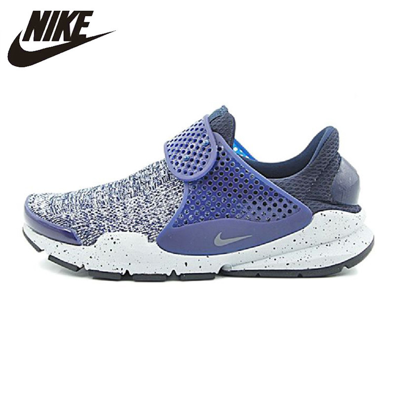 Nike Sock Dart Men's Running Shoes Original Sports Outdoor Sneakers Shoes Breathable Non-slip 859553-400 диск k&amp k андорра 7x17 5x114 et35 0 венге