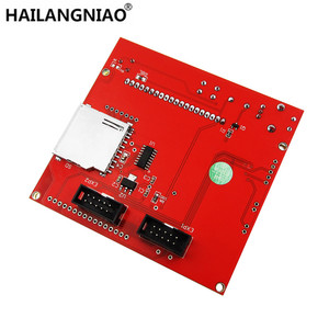 Image 2 - 12864จอแอลซีดีRampsสมาร์ทชิ้นส่วนRAMPS 1.4ควบคุมแผงควบคุมจอแอลซีดี12864จอภาพเมนบอร์ดหน้าจอสีฟ้าโมดูล