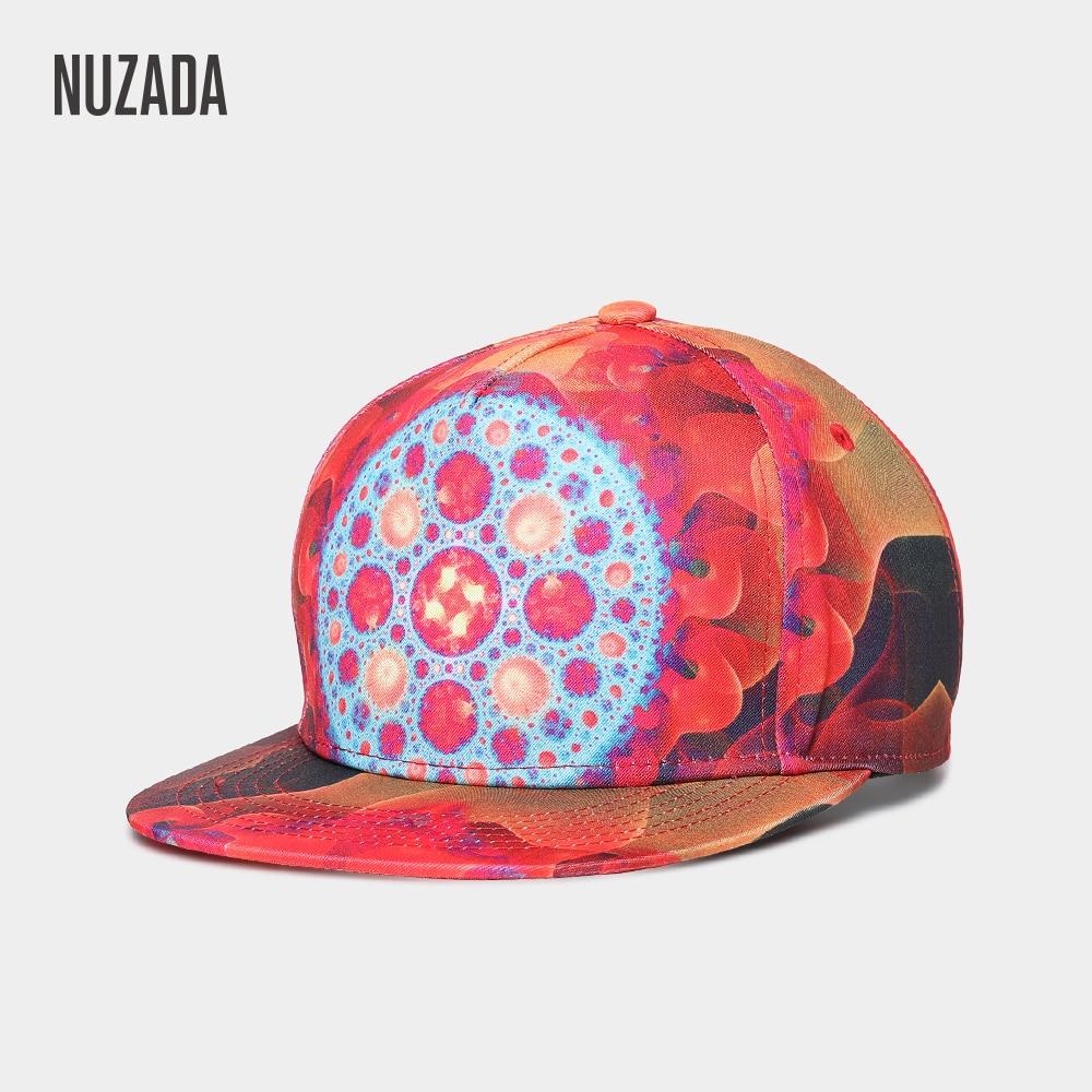 Бейсболка NUZADA, модная, индивидуальная, с 3D принтом, для мужчин и женщин, регулируемая, в стиле панк, с костями, уникальные, хлопковые, Snapback