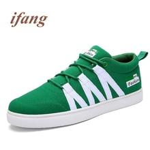 ifang 2017 fashion Flats men Mixed Color men's Footwear Flats Shoe Male Loafers shoes mans Flats Zapatos de los hombres