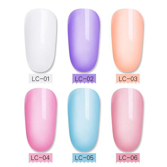 LILYCUTE 8ml Soak Off UV Jelly Gel