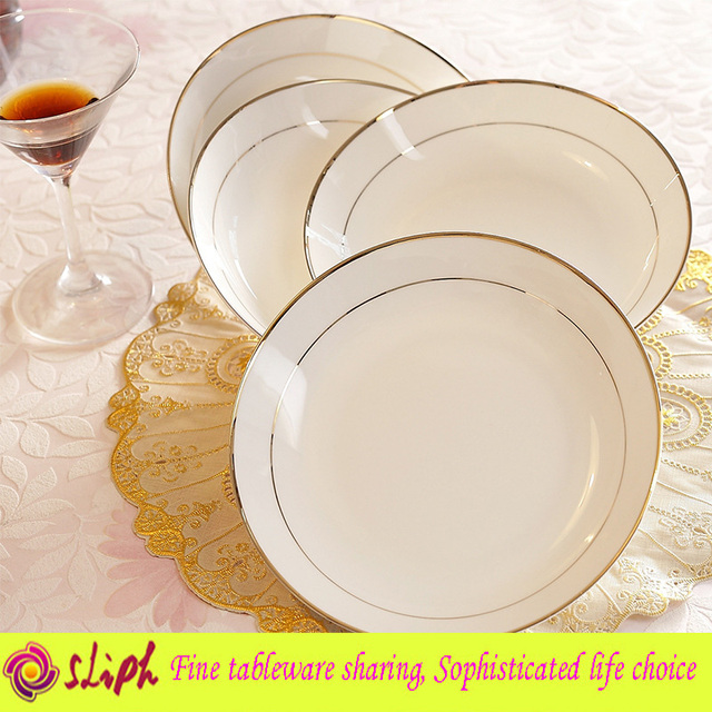 High-Grade Dinner Plate Dinnerware Bone China Rice Dish 8 Inch Round Plate Private Home  sc 1 st  AliExpress.com & High Grade Dinner Plate Dinnerware Bone China Rice Dish 8 Inch Round ...