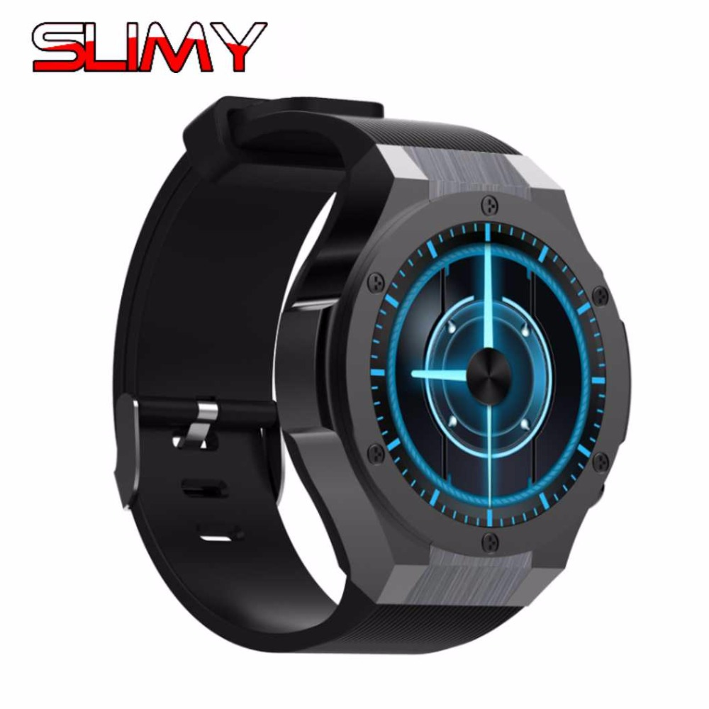 Slimy MTK6580 Android 5.1 OS GPS Smart Watch Phone With 5.0 MP Camera support Wifi 3G SIM Card Smartwatch Wristwatch For Men 3g smart watch android 5 1 wristwatch gps 3g wifi support sim card touch screen smartwatch phone 720p camera for ios