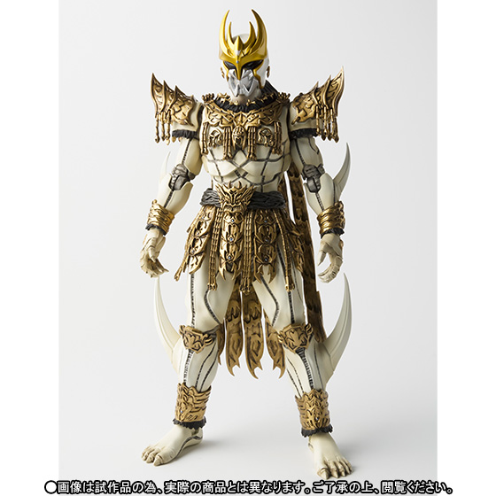 Brettyangel-véritable Bandai Tamashii Nations S. H. Figuarts cavalier masqué exclusif Kuuga N. Daguva. Zeba figurine d'action - 3