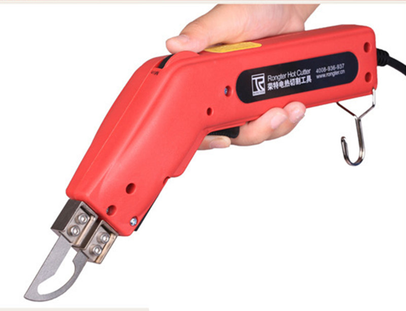 100W Hand Hold Heating Knife Cutter Hot Cutter Fabric Rope Electric Cutting Tools Portable Hot Knife