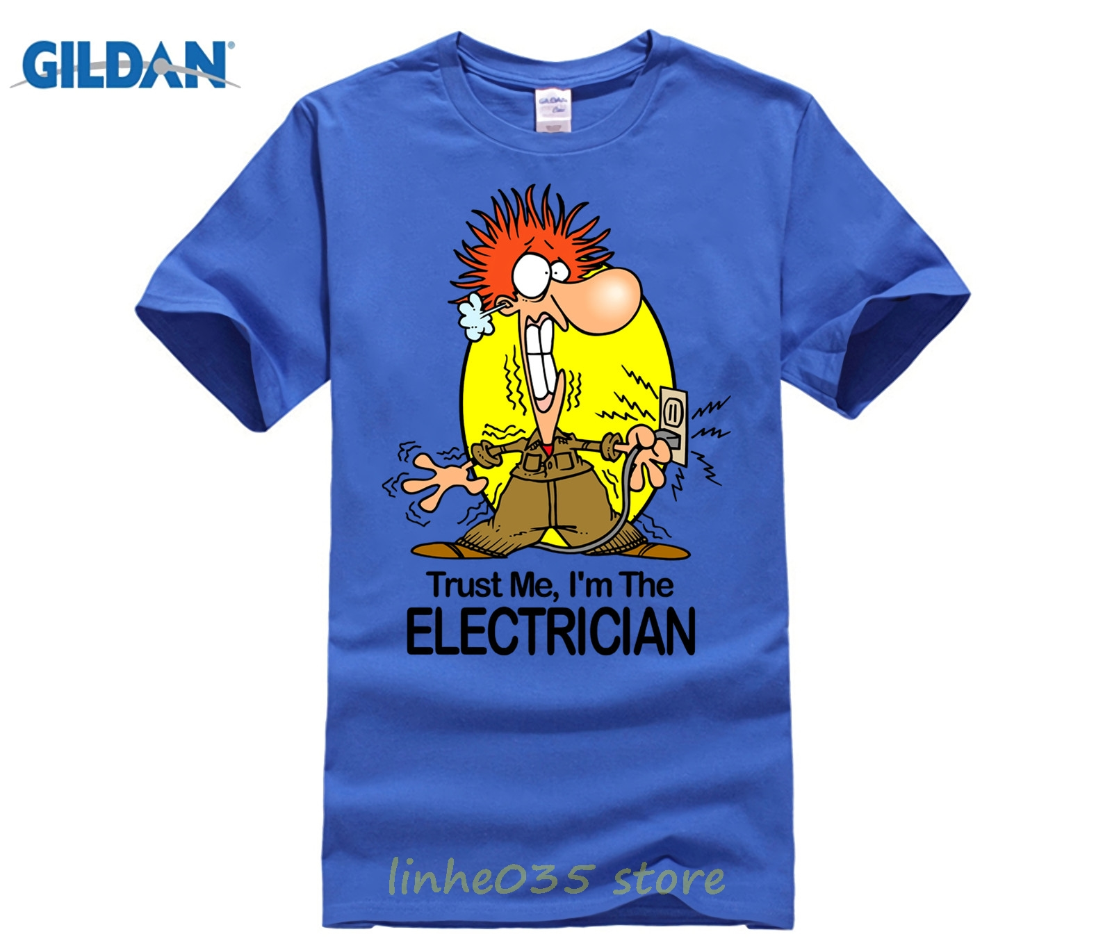 65cdbfd9e MENS FUNNY COOL NOVELTY ELECTRICIAN SPARKY NEW JOB T-SHIRTS JOKE GIFTS  PRESENTS Funny Clothing