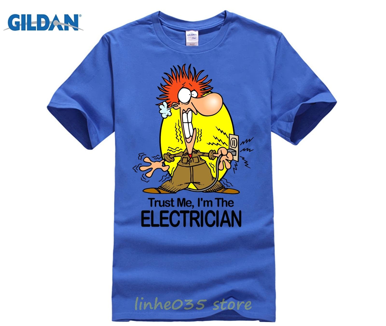 5ea977ea9b MENS FUNNY COOL NOVELTY ELECTRICIAN SPARKY NEW JOB T-SHIRTS JOKE GIFTS  PRESENTS Funny Clothing