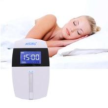 Augmentation de l'activité des ondes Alpha, insomnie, anxiété, dépression, stimulateur CES, appareil de sommeil, infirmière, garder le cerveau calme et détendu